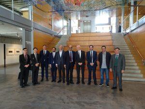 Senior Minister of Singapore Mr. Tharman visits the Ecobox