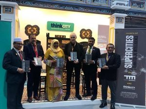 """MOU signing + launching of the English edition of our book """"Supercities. Territorial Intelligence"""""""
