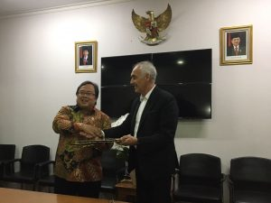 Signed agreement with the Indonesian Ministry of National Development Planning in order to develop the 10 new tourist destinations in the country