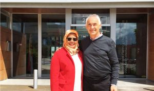 Maimunah Mohd Sharif, Executive Director of UN-Habitat visits the headquarters of Fundacion Metropoli
