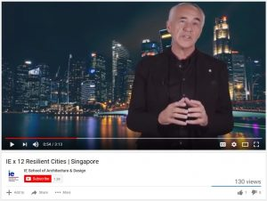IE x 12 Resilient Cities: Alfonso Vegara, Singapore