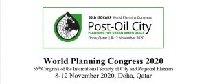 Fundación Metrópoli as an Endorsing Partner at the 56th ISOCARP World Planning Congress