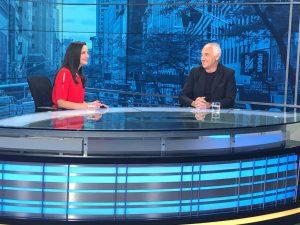 """Alfonso Vegara interviewed at """"Vanguardia"""" in """"MundoPlus"""""""