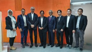 Indonesia's Minister of Agrarian Affairs and Spatial Planning & the Director of Spatial Planning visit the Ecobox